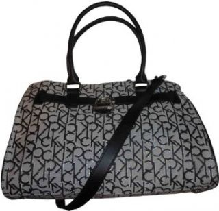 Womens Calvin Klein Purse Handbag Signature Logo Tote
