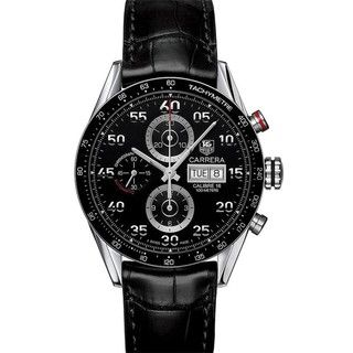 TAG Heuer Mens Carrera Stainless Steel Chronograph Watch