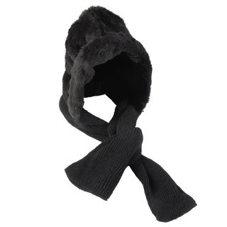 Journee Collection Womens Knit Scarf with Hood