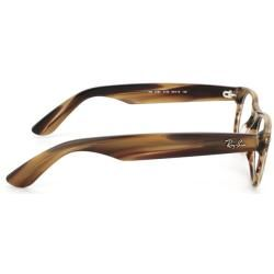 Ray Ban Unisex RX 5184 New Wayfarer Brown Striped Optical Frames