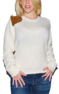 Polo Ralph Lauren Womens Equestrian Sweater Cream Wool