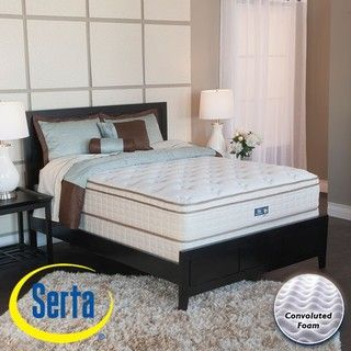 Serta Bristol Way Euro top Twin size Mattress and Box Spring Set