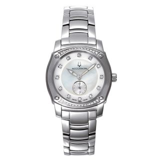 Accutron Womens Pemberton Stainless Steel Watch