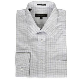 Jhane Barnes Mens Micro Check Dress Shirt