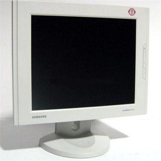 Samsung 171T Flat Panel LCD White Monitor