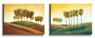 New Morning by M. Klung Stretched Canvas Art Set