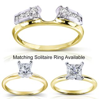 Two Tone Gold Engagement Rings Diamond Engagement