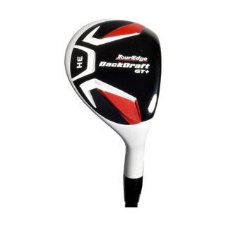 Tour Edge Mens Backdraft GT + 3 Hybrid Golf Club