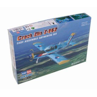 Hobby Boss Czech Zlin Z 142 Airplane Model Building Kit