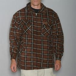 Stillwater Supply Co. Mens Sherpa Lined Flannel Shirt