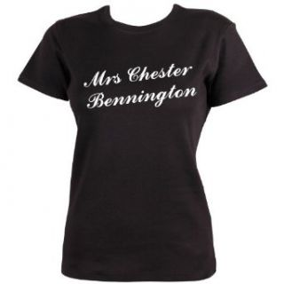Mrs Chester Bennington T shirt by Dead Fresh Bekleidung