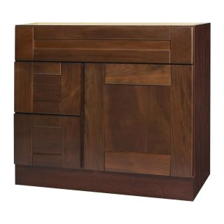 Georgetown Series 36x18 inch Vanity Base with Left side Drawers