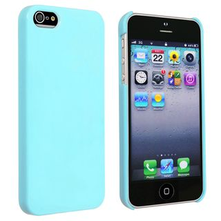 BasAcc Blue Ice cream Snap on Case for Apple® iPhone 5