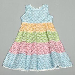 Girls Pop Patchwork Dress (India)