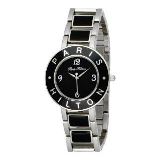 Paris Hilton Womens 138.5167.60 Logo Black Dial Watch Watches