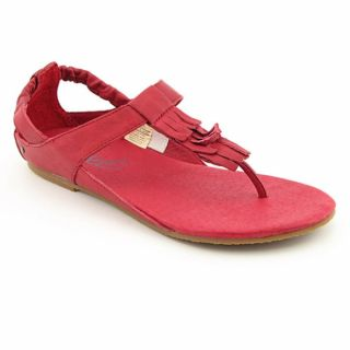 Diesel Womens Sunny Red Chili Pepper Sandals