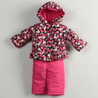 Osh Kosh Infant Girls Polka Dots Snowsuit FINAL SALE