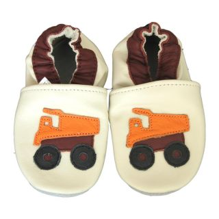 Baby Pie Truck Leather Boys Shoes