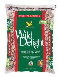 Wild Delight Inshell Peanuts 13 pound