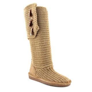 Bearpaw Womens Anastasia Crochet/Knit Boots (Size 7)