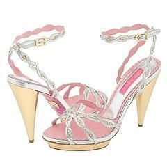 Betsey Johnson Michelle Gold/Silver
