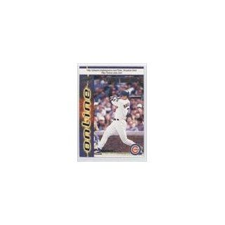 Chicago Cubs (Baseball Card) 1998 Pacific Online #143: Collectibles
