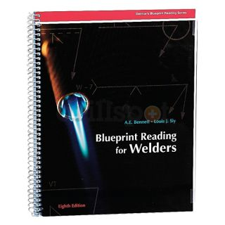 Blueprint reading for welders with sheets cengage learning 9781428335288 blueprint reading welders 8ed malvernweather Choice Image