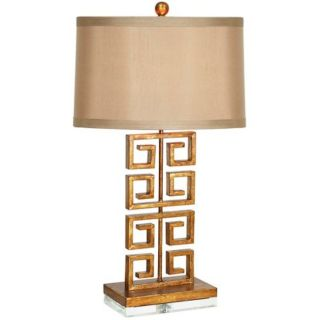 Couture Lamps Greek Key Table Lamp