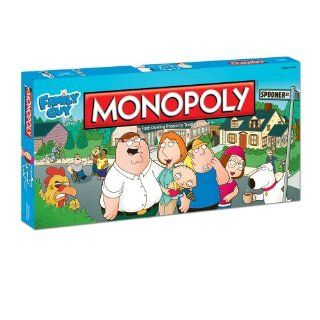Monopoly Family Guy: Toys & Games