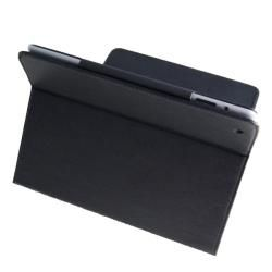 Premium Apple iPad 2 Leather Case with Detachable Keyboard and