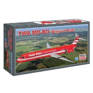 Minicraft Models TWA MD 80, 1/144 Scale Toys & Games