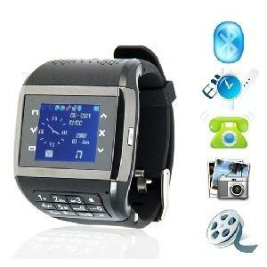 i007 Q8 Watchphone Handy Watch Mobile Phone Spy Camera