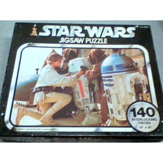 140 Interlocking Jigsaw Puzzle 14 x 18 Series II Luke Skywalker