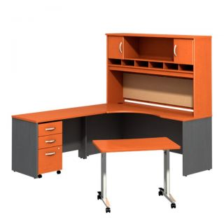 Bush Series C Executive Suite 12 Workstation