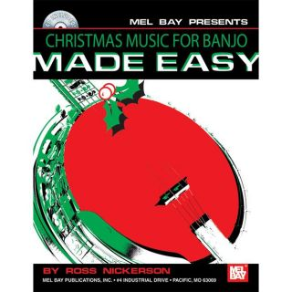 Mel Bay Christmas Music for Banjo Made Easy Book/CD Set