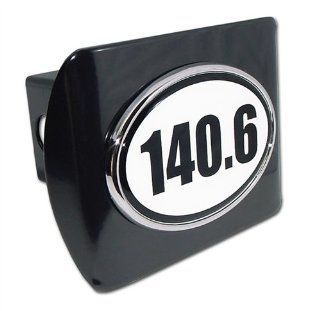 IronMan 140.6 Premium Black Metal Trailer Hitch Cover