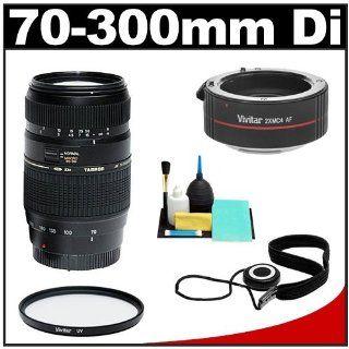 Tamron 70 300mm Di LD Macro Zoom Lens with Hood (= 140