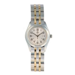 Swiss Army Womens Alliance Silver Dial Watch