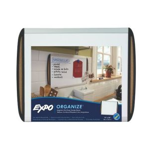 Expo Magnetic Dry Erase Board with Cork Strips Today $21.99 Sale $19