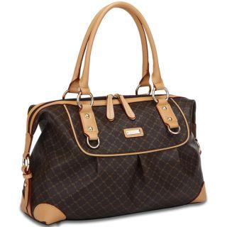 Rioni The Patti Bag Signature Brown Handbag