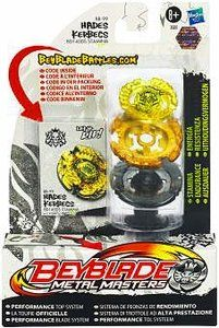 Beyblades Metal Masters Battle Top #BB99 Hades Kerbecs BD145DS Stamina