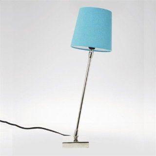 LOUNGE DESIGN NACHTTISCH TISCHLAMPE TURN lampe leuchte türkis