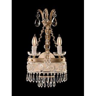 Savoy House 9 796063 2 141 Russian Regency   Two Light Sconce, Antique