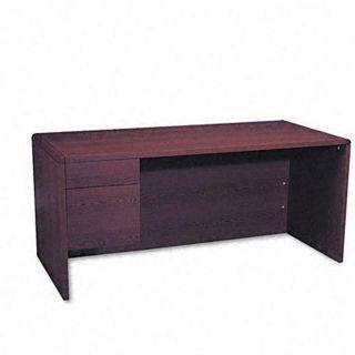 Hon 10600 Series 3/4 Single Left Pedestal Desk