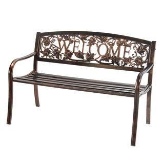 Outdoor Welcome Bench