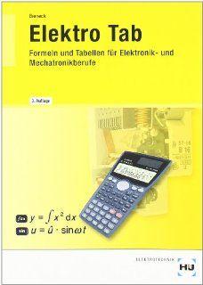 Elektro TAB: Formeln und Tabellen für Elektonik  und