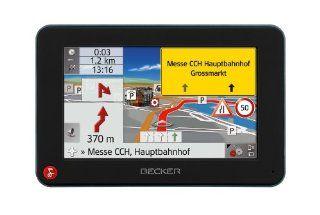 Becker Traffic Assist Z 217 Truck Navigation inkl. TMCpro (10,9 cm (4