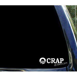 OCRAP .funny anti obama sticker decal