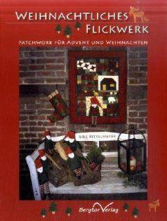 Weihnachtliches Flickwerk Patchwork für Advent und Weihnachten