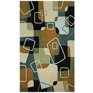 Hand Tufted Fallon Multi Wool Rug (5 x 8)
